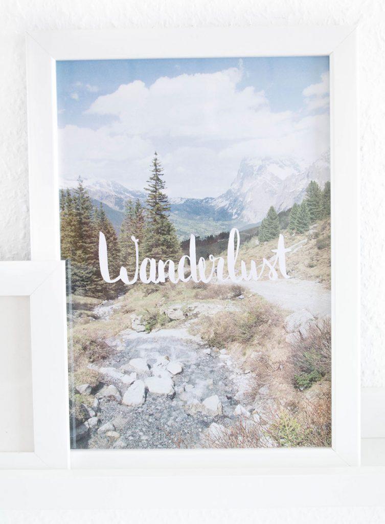 Wanderlust Free Printable