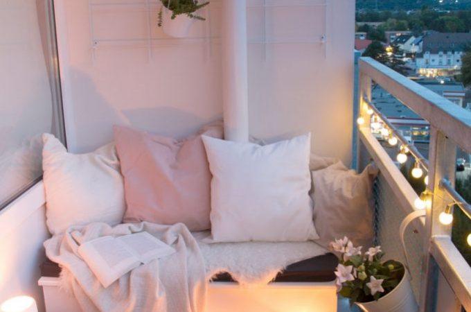 So bleibt der Balkon auch im Herbst mein Lieblingsplatz – DIY Sitzbox