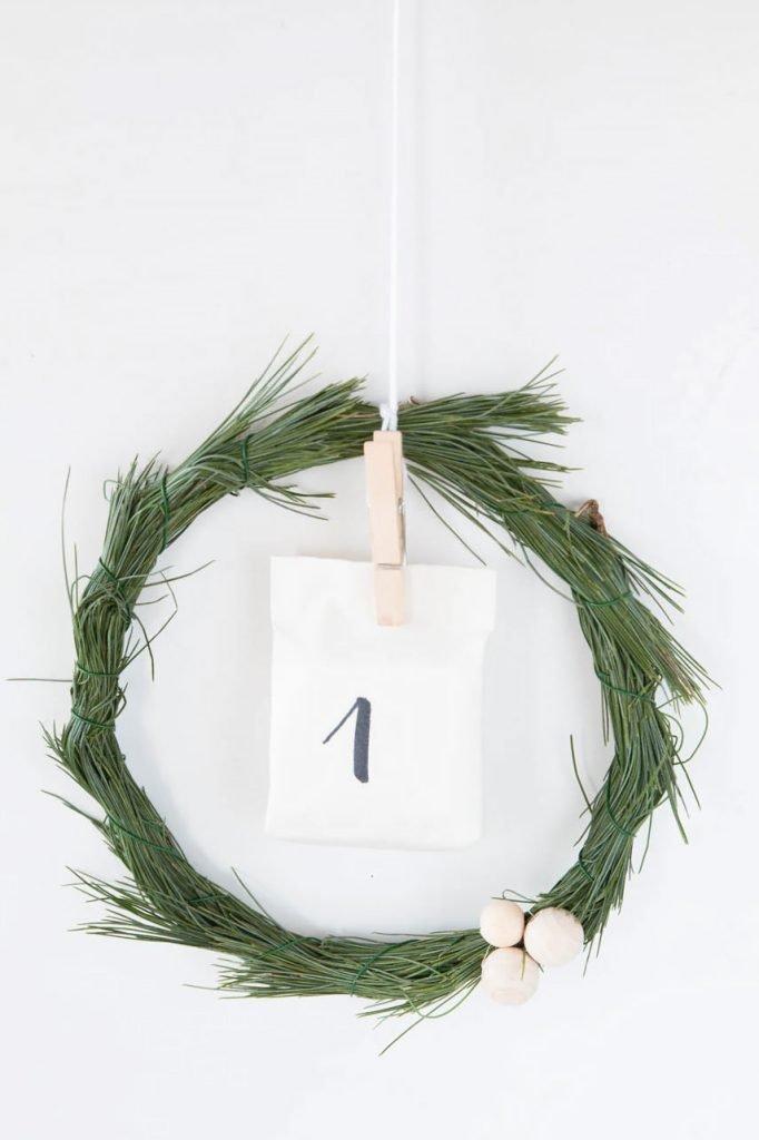Last-minute Adventskalender basteln