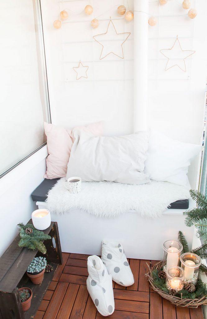 5 weihnachtsdeko f r den balkon ars textura diy und. Black Bedroom Furniture Sets. Home Design Ideas