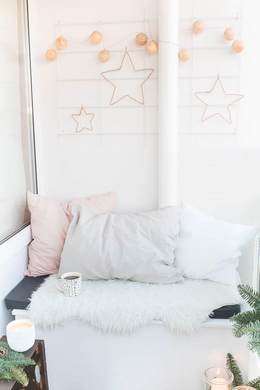 *5* Weihnachtsdeko für den Balkon