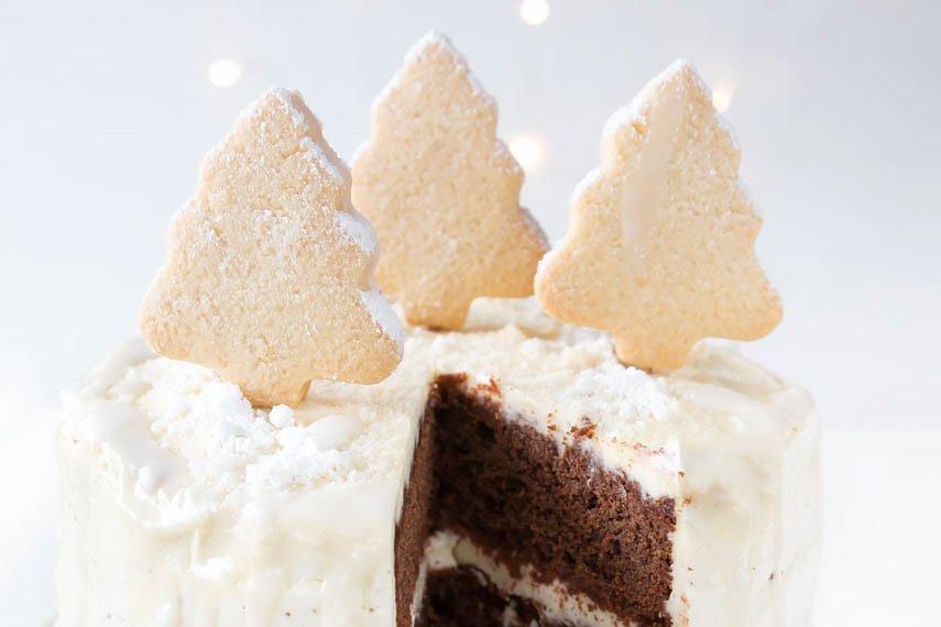 *17* Weihnachtliche Orangen-Schoko Torte