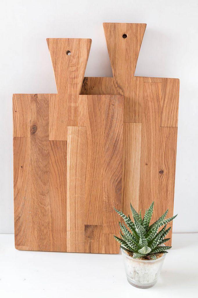 DIY Holzbrettchen - Schneidebrettchen aus Holz einfach selber machen