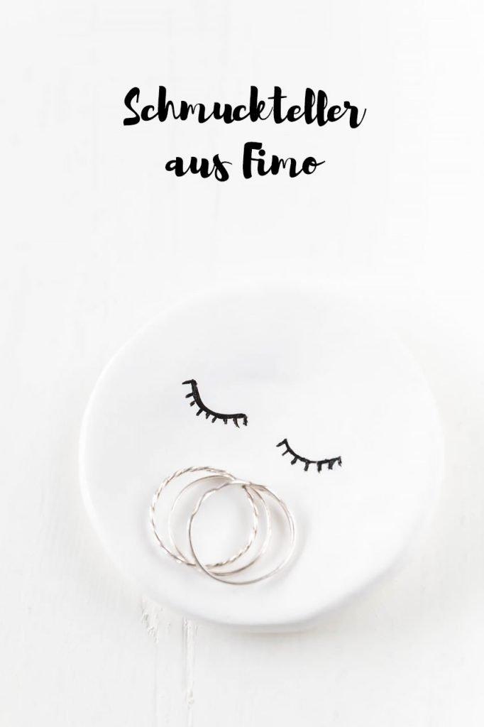 Kleiner Schmuckteller aus Fimo - ein tolles DIY Geschenk für Freundinnen