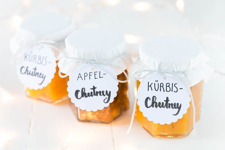 Rezepte für Apfelchutney und Kürbischutney