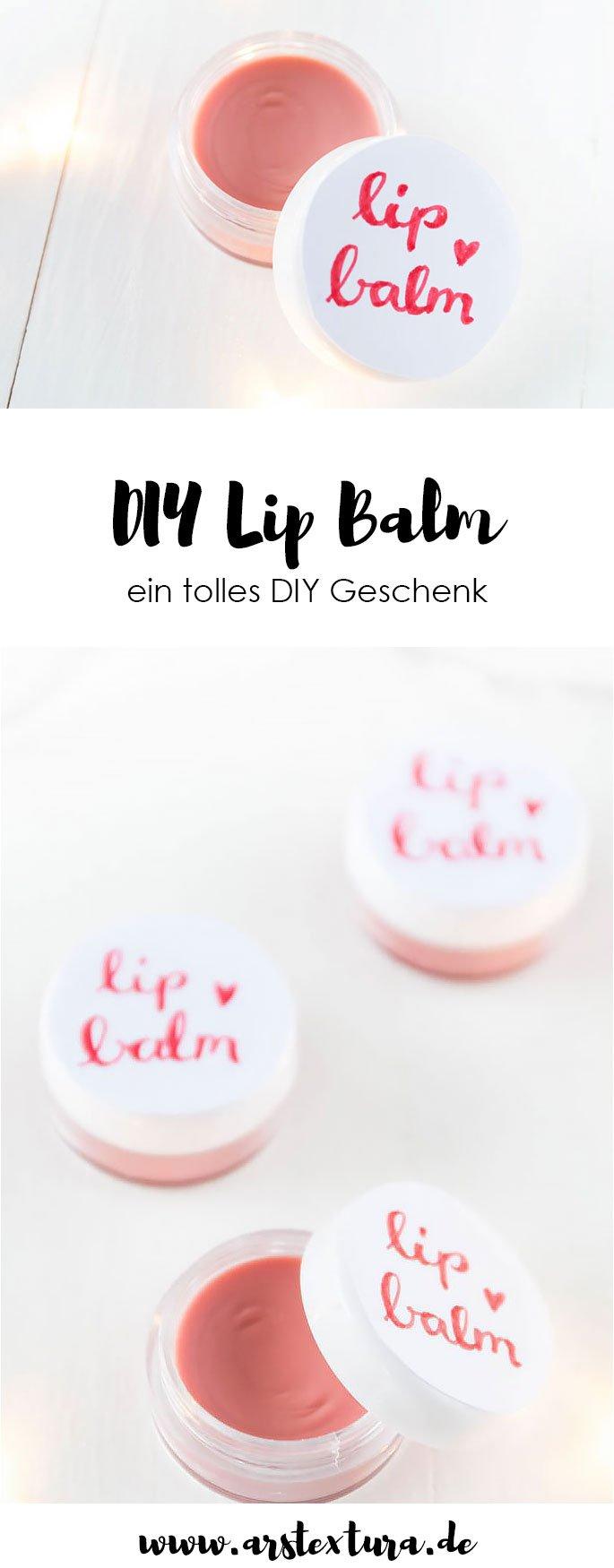DIY Geschenke: Lip Balm