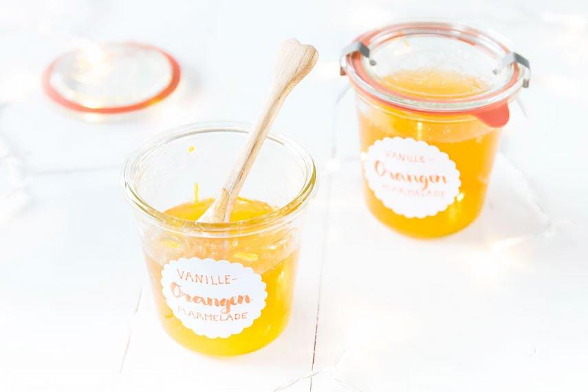 Orangen-Vanille Marmelade selber machen