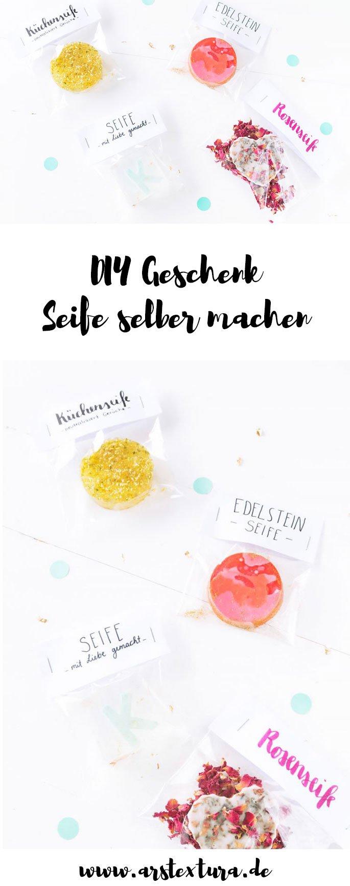 DIY Geschenk: Seife selber machen