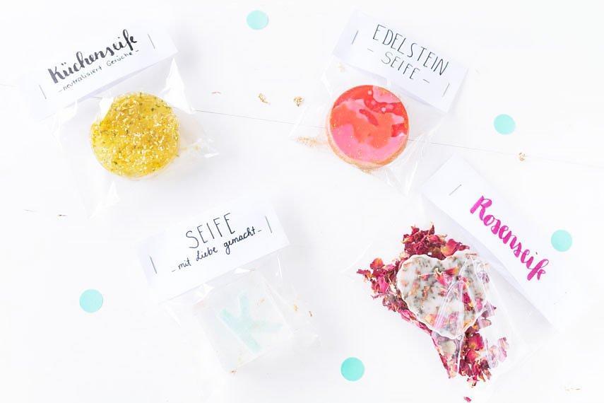 DIY Geschenke: Seife selber machen