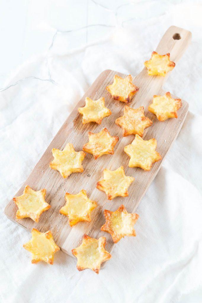 Stern Pommes selber machen - perfekt fürs Weihnachtsessen