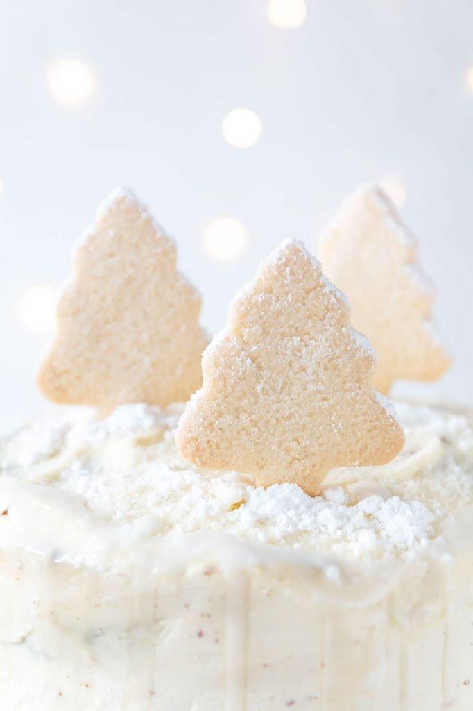 Weihnachtliche Orangen-Schoko Torte mit Frischkäsecreme