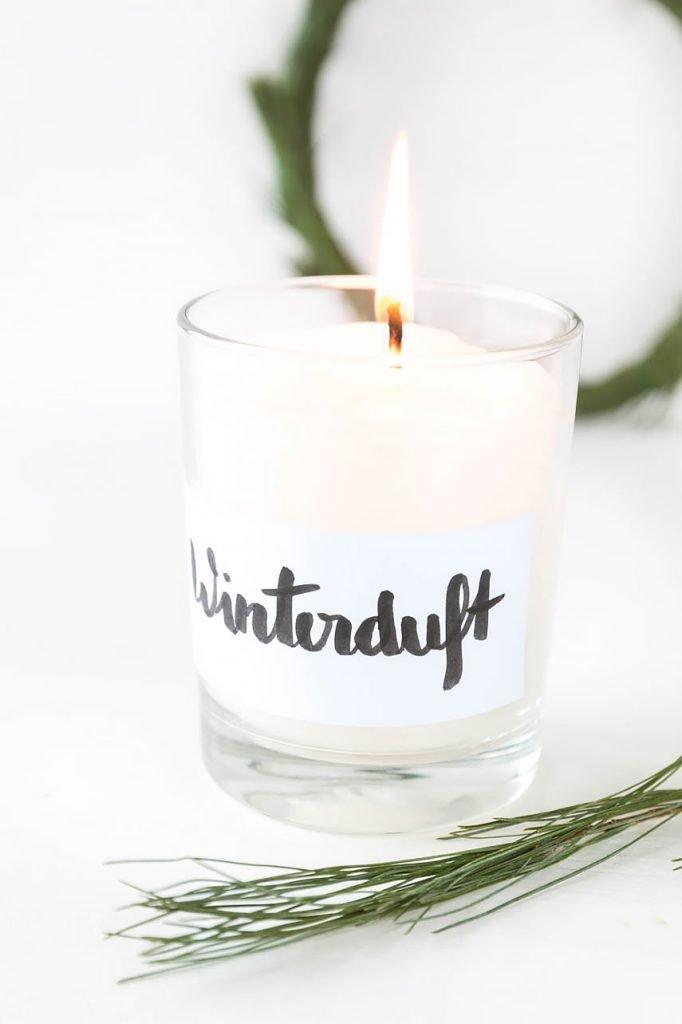 Duftkerzen einfach selbst gemacht - mit Duftöl und Kerzenwachs