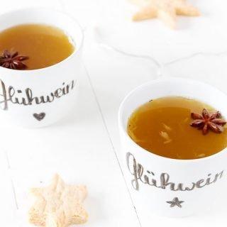 Weihnachtsrezept | weißer Glühwein Rezept