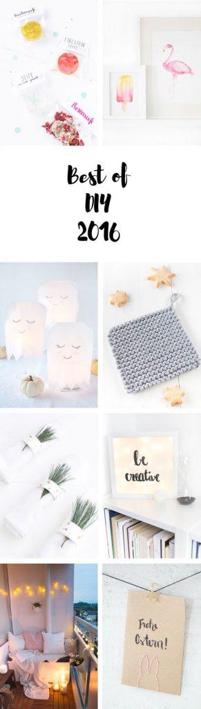 Die schönsten DIY Ideen aus 2016: DIY mit Holz, selbstgemachte Kosmetik und viele andere DIY Ideen