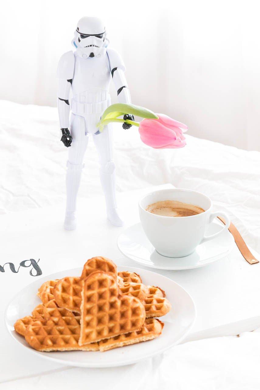 Star Wars zum Valentinstag - das perfekte Frühstück für den Mann
