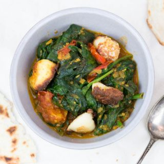 Palak Paneer - Spinat Curry