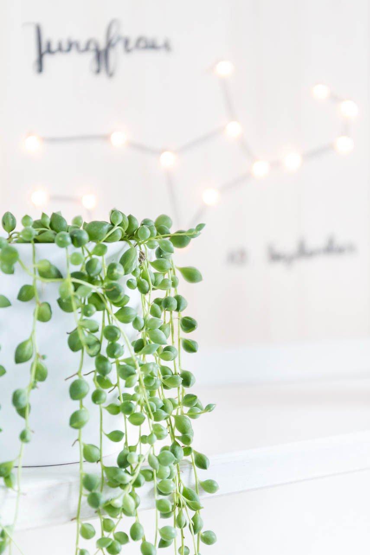 DIY leuchtendes Sternzeichen - ein schönes Geschenk zur Hochzeit