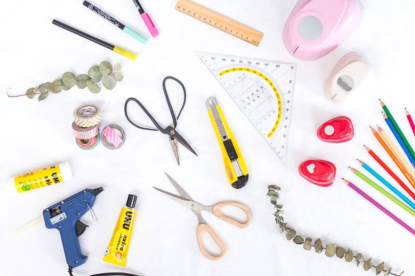 DIY Material, das du zum Basteln brauchst