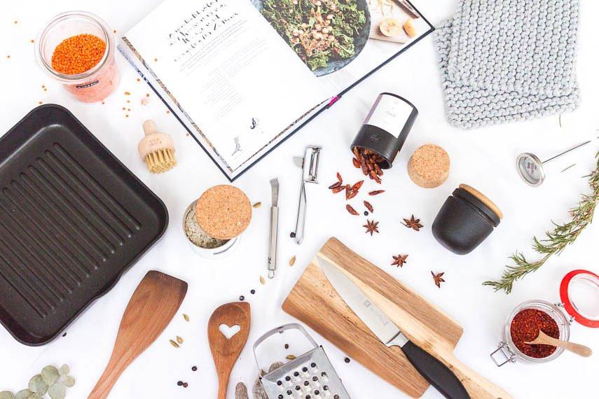 10 Dinge, die du in der Küche brauchst