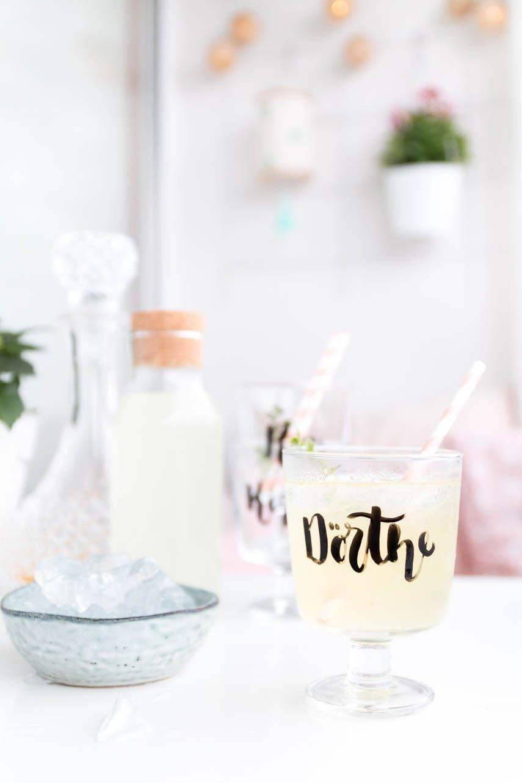 Ingwer Drink mit Whisky - Longdrink für die Grillparty