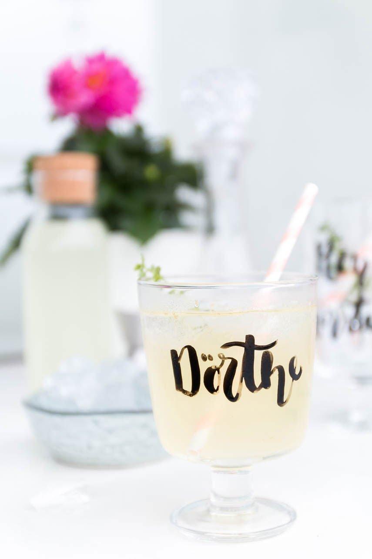Ingwer Drink mit Whisky für deine Grillparty