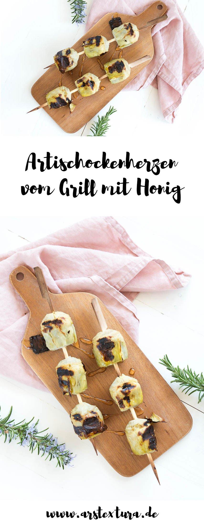 Artischockenherzen vom Grill mit Honig - Die perfekte Grillparty