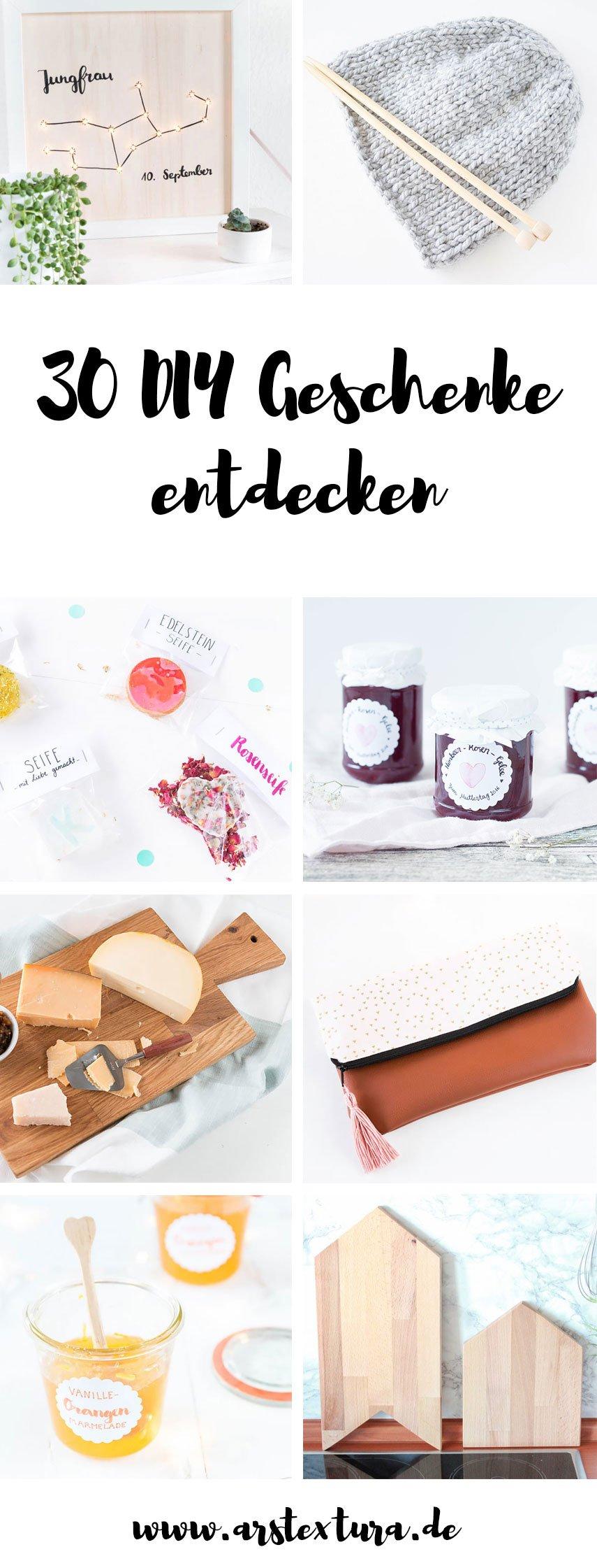 diy geschenke ars textura diy blog food bastelideen rezepte. Black Bedroom Furniture Sets. Home Design Ideas