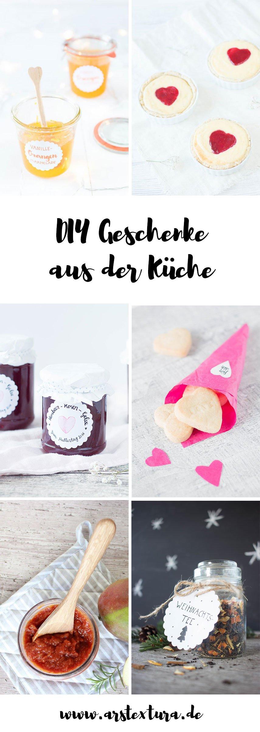 Geschenke aus der Küche | ars textura - DIY Blog & Food ...