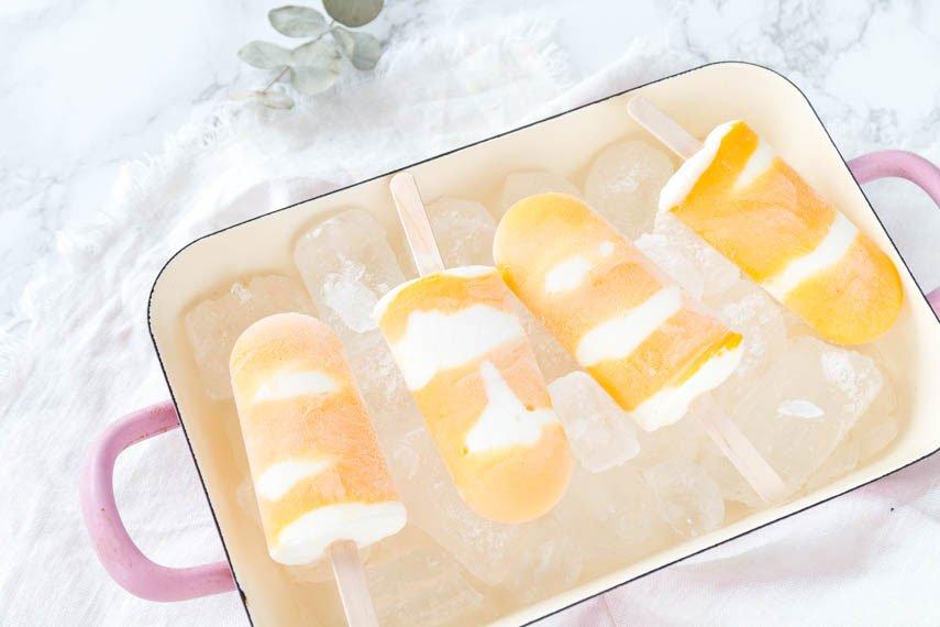 Mango-Joghurt Eis