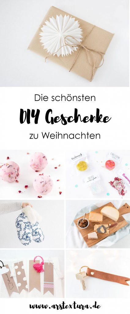 die sch nsten diy geschenke ars textura diy blog food bastelideen rezepte. Black Bedroom Furniture Sets. Home Design Ideas