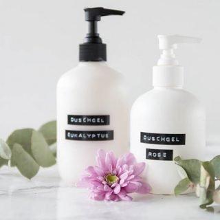 Duschgel selber machen | ein einfaches DIY Geschenk zu Weihnachten | #diy #diygeschenk #duschgel