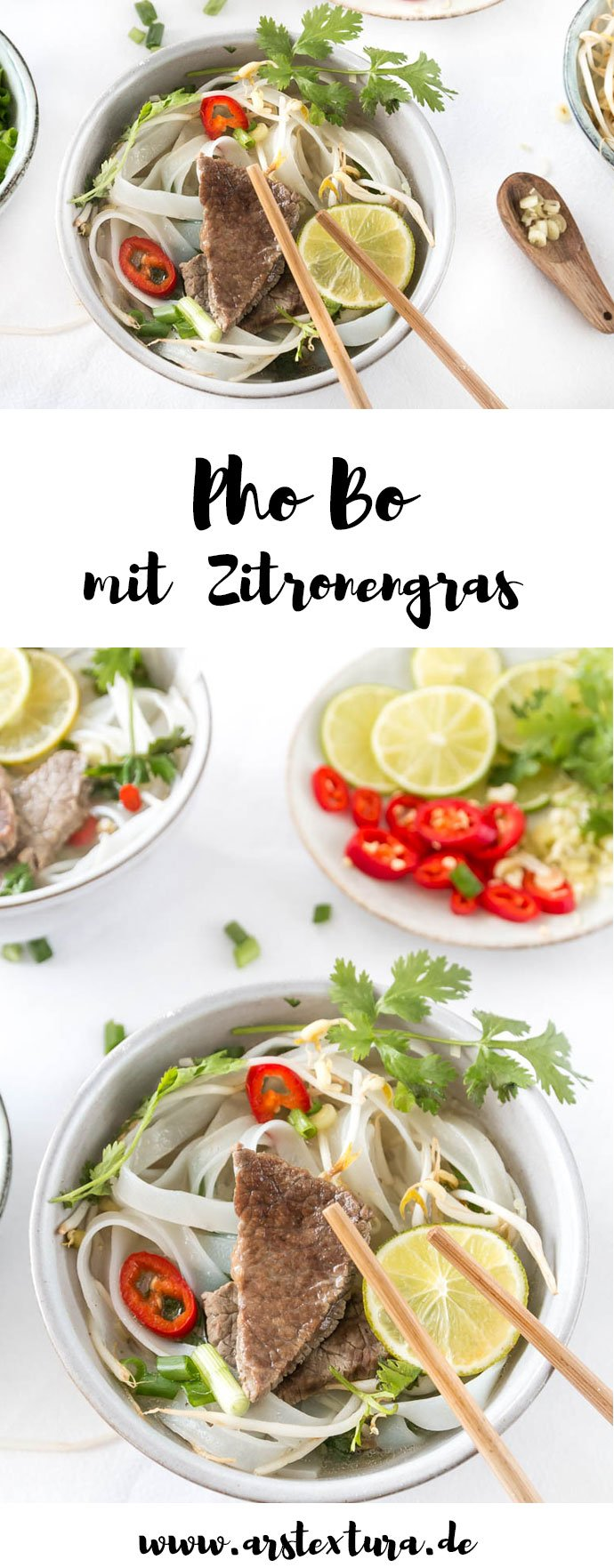 Pho-Bo | Vietnamesische Rindssuppe mit Zitronengras und Koriander