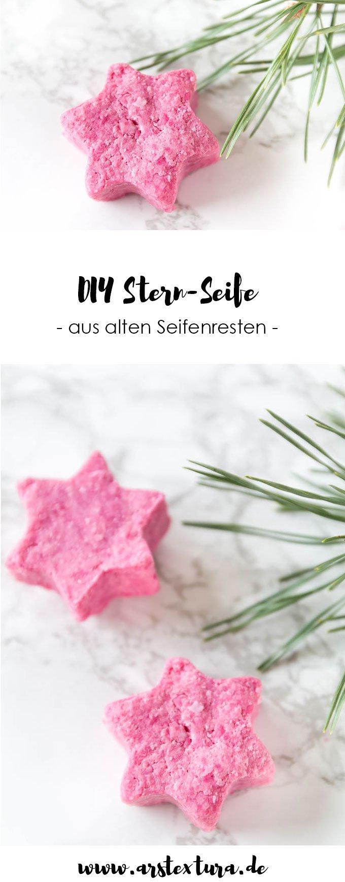 Seife selber machen | ein schönes DIY Geschenk zu Weihnachten oder zum Muttertag | #diy #diygeschenk #weihnachten