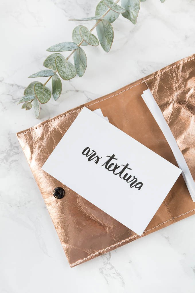 DIY-Geschenk |Visitenkarten-Etui nähen - mit Anleitung für Anfänger #diygeschenk