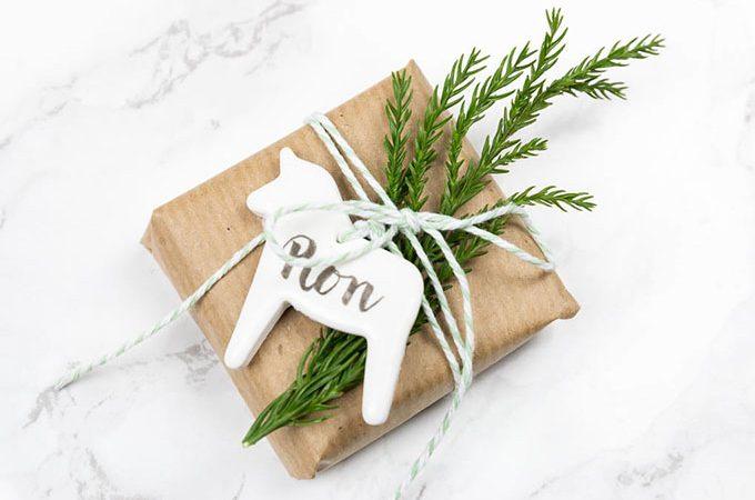 *20* Geschenkanhänger mit Handlettering