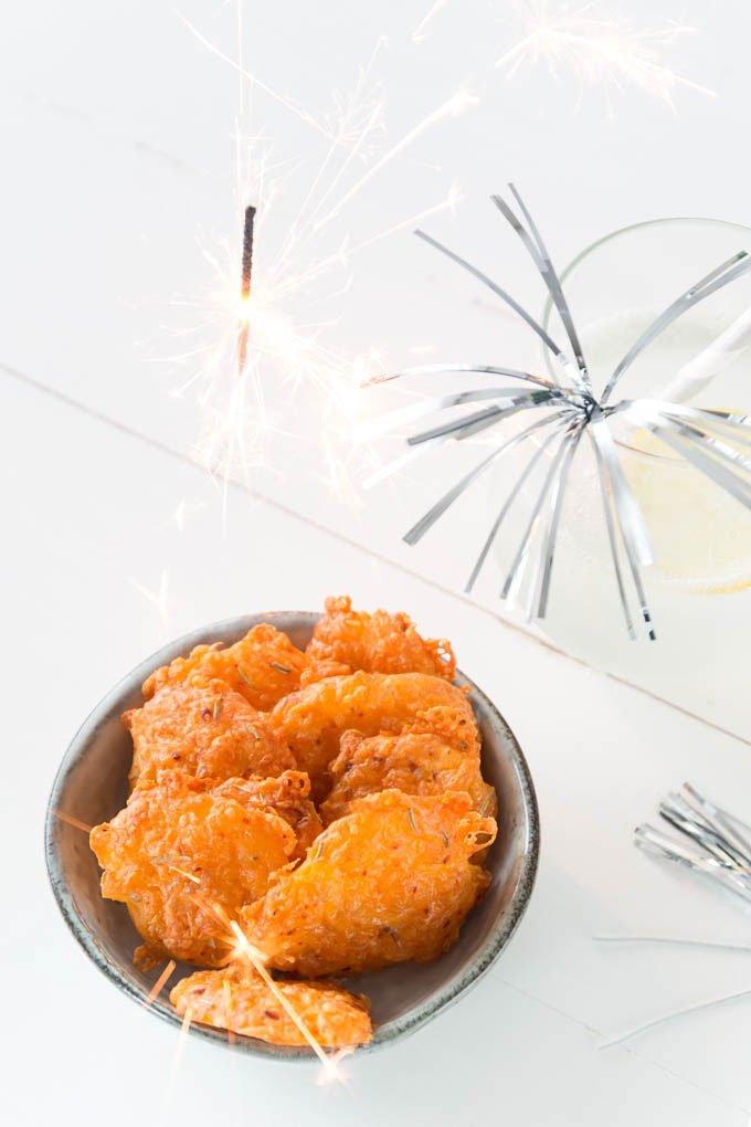 Silvester Snack mit Käse - Fingerfood