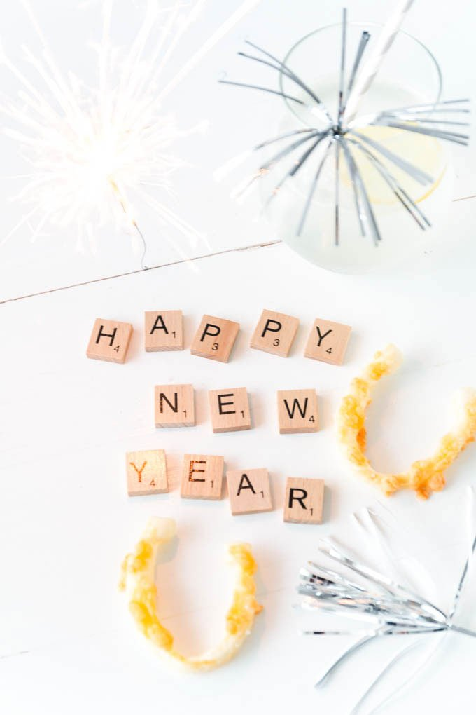 Silvester Snacks als Fingerfood für die Party - happy new year  | ars textura - DIY Blog