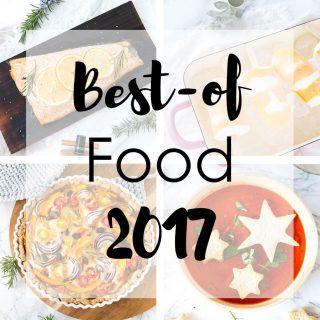 best-of food 2017: Die leckersten Rezepte aus 2017 - ob Granola, Eis oder Burger hier findet ihr die besten Rezepte
