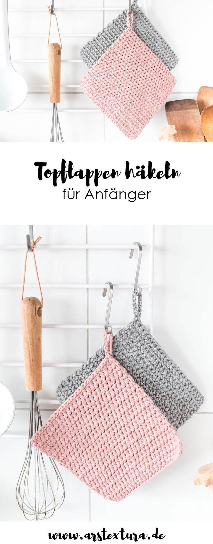 Topflappen Häkeln Für Anfänger Ars Textura Diy Blog