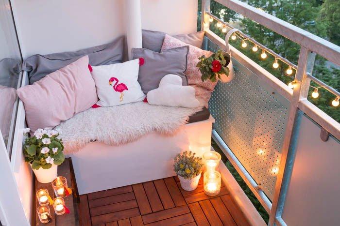 Tipps für einen gemütlichen Balkon