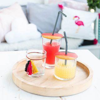 DIY Glasdeckel aus Fimo basteln - Insektenschutz fürs Glas - Fimo DIY | ars textura - DIY Blog