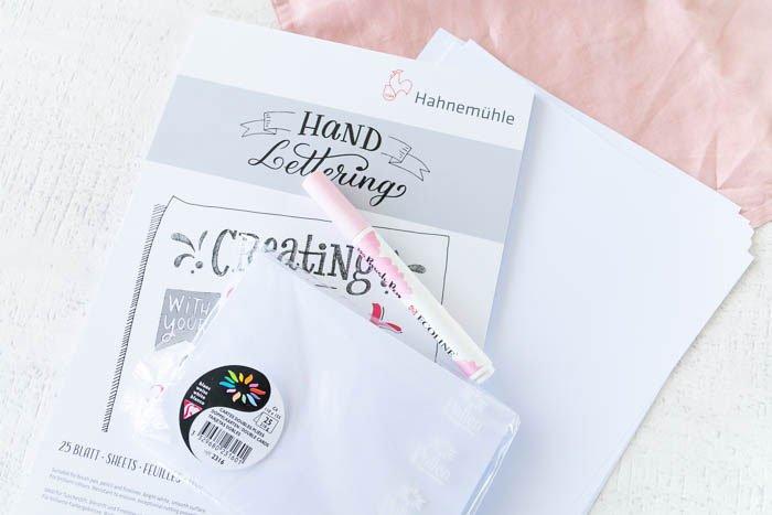 Papier fürs Handlettering
