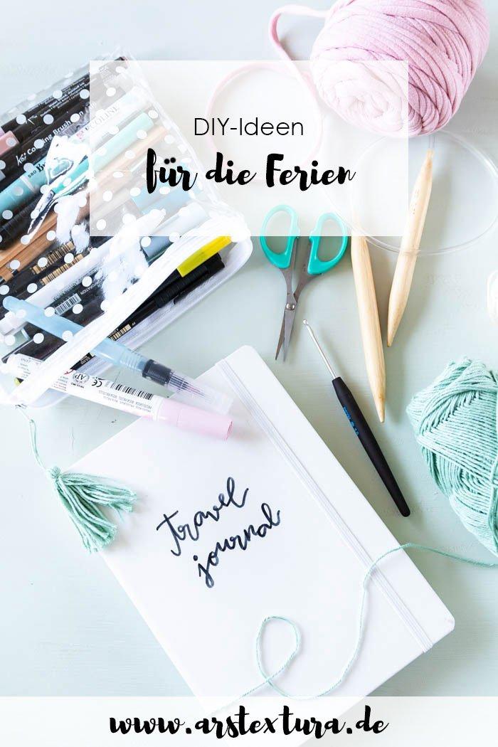 DIY-Ideen für die Ferien