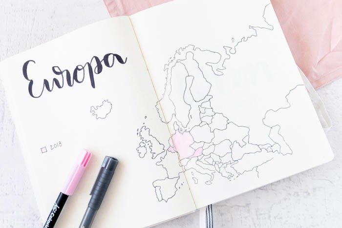 Travel Journal - ein einfaches Reisetagebuch