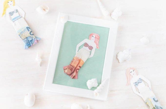Meerjungfrau Geldgeschenk