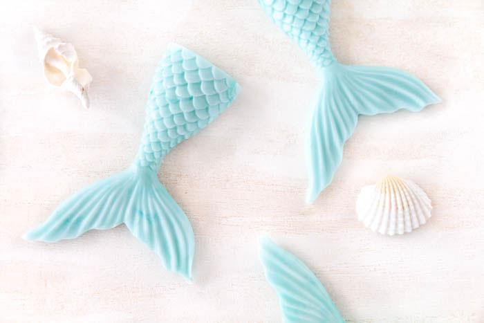 Meerjungfrau Seife selber machen
