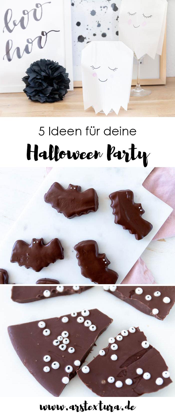 5 Ideen für deine Halloween Party: Rezepte und DIY Deko