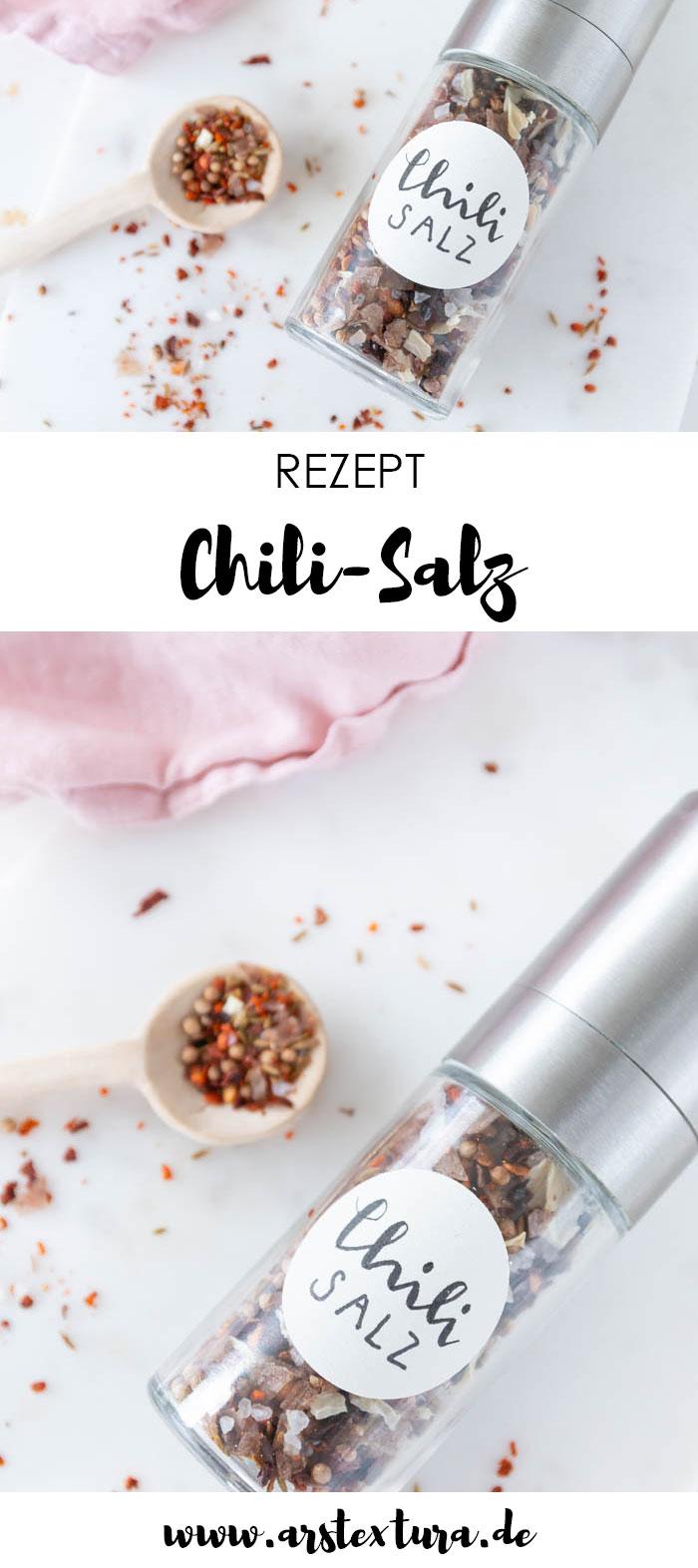 Chili Salz selber machen