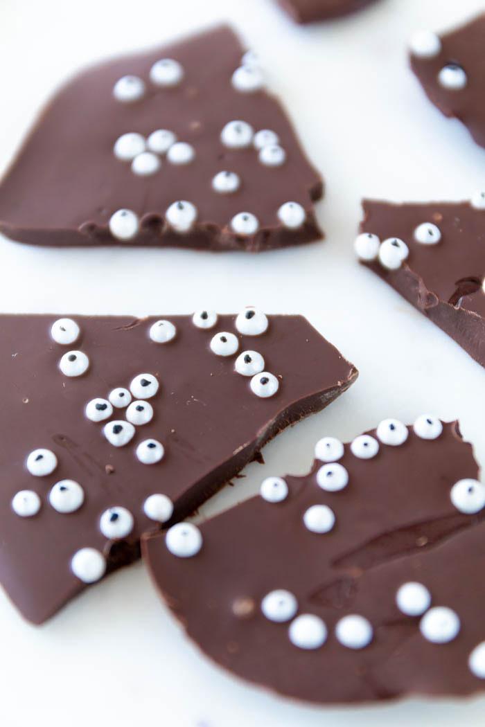 Halloween Rezept: Augen Schokolade