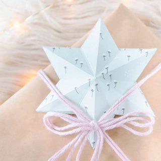 Sterne aus Papier basteln - Anleitung